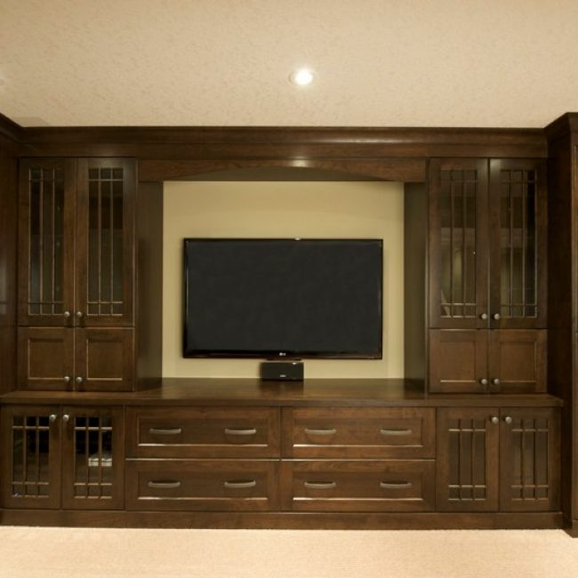 We also make custom cabinets and cupboards bars and dens