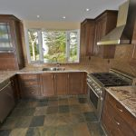 The after shot of a kitchen we made cabinets for. Header image for before and after portfolio page and fine example of the work we do.