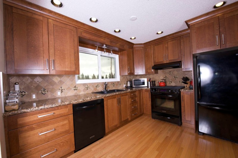 Custom kitchen cabinets calgary evolve kitchens recycled wood - Custom kitchen cabinet manufacturers ...