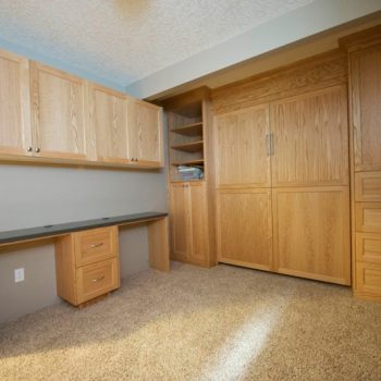Calgary Custom Bedroom Closet and Cabinets