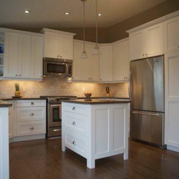 Calgary custom kitchen after