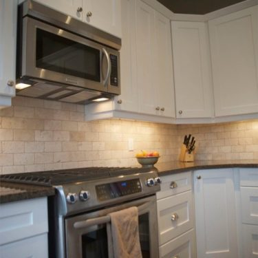 Calgary Custom Kitchen Cabinets-white