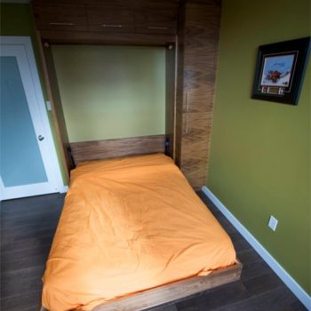 Custom Folding Bed Calgary Textured Wood