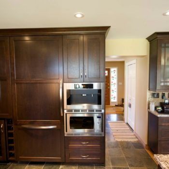 Dark Oak Custom Calgary Kitchens