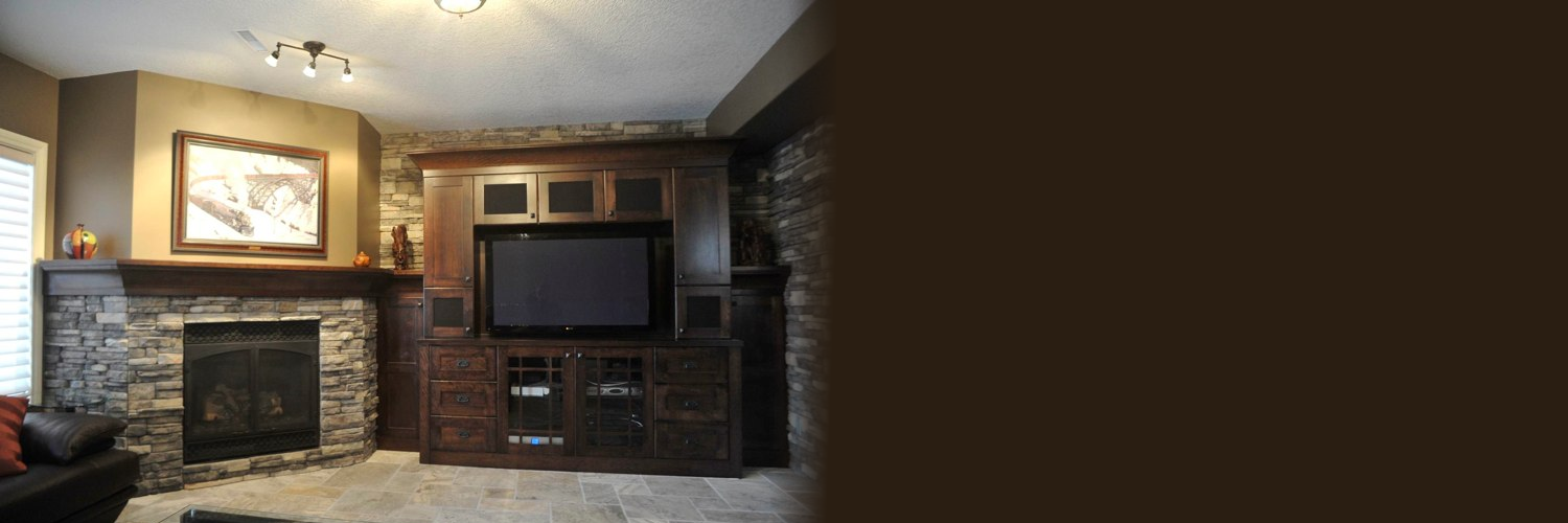 Custom entertainment cabinets or television cabinets Calgary